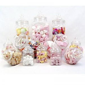 12 Pot vintage style victorien Pick & Mix Sweet Shop Candy Buffet kit Pack de fête de la marque Topstar image 0 produit