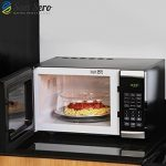 Heat Vented Microwave Cover [10.5 Inch] Splatter Guard Plate Cover - Save 66% Energy - Certified British Made Quality by San Sero Microwave Food Cover de la marque San Sero image 1 produit
